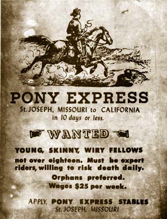 Post image for Pony Express Redux: How You Can Saddle Up To Ride Horseback In The Hoofprints Of History