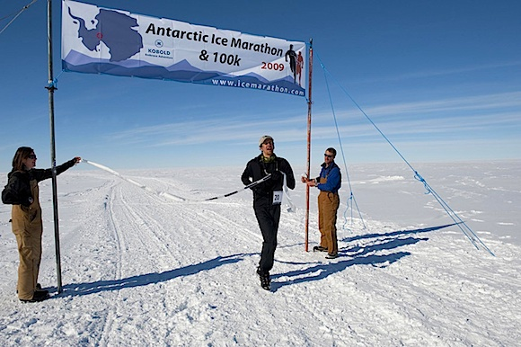 Post image for Running The Antarctic Ice Marathon Makes For Masochistic Memories